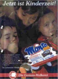 Kinderzeit Werbung