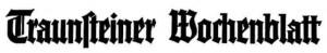 Traunsteiner Wochenblatt